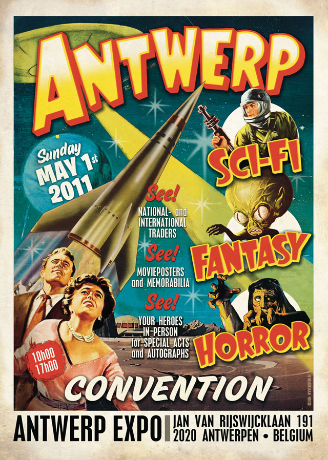 Antwerp Sci-Fi, Fantasy and Horror Convention Antcon11