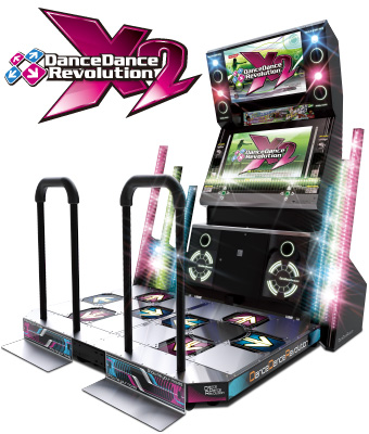 DanceDanceRevolution X2 Ddrx2cab