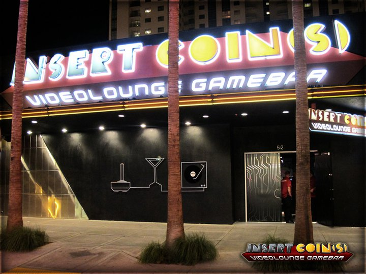 Insert Coin(s) Videolounge Gamebar (Las Vegas) Iclv01