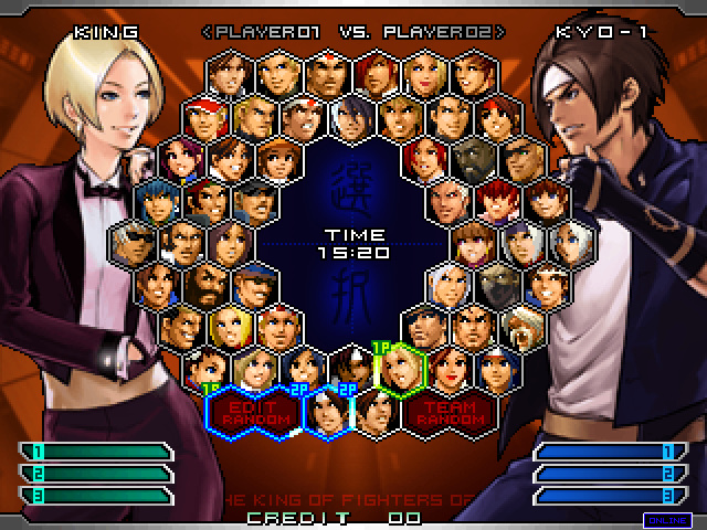 The King of Fighters 2002 Unlimited Match for NESiCAxLive Kof2002umnxl01