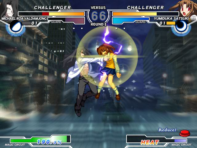 MELTY BLOOD Actress Again Current Code Mbaacc07